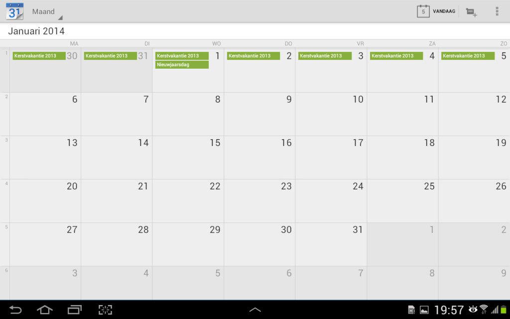 Kalender 2019 Belgie Met Feestdagen En Schoolvakanties