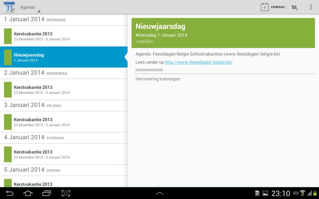 Samsung galaxy tablets feestdagen belgie toevoegen en schoolvakanties feestdagen belgie - Wc opgeschort deco ...