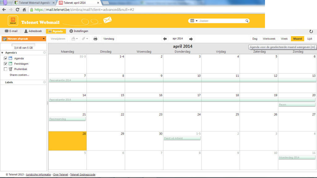 Kalender met feestdagen 2014 belgie autos post for Agenda lantaren venster