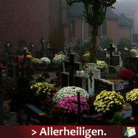 Herinnering Allerheiligen dinsdag 1 november 2011 via www.feestdagen-belgie.be