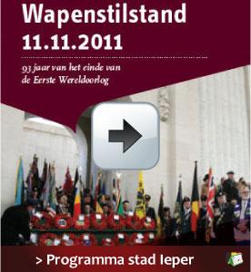 Ieper Wapenstilstand programma 11 november 2011 via http://www.feestdagen-belgie.be/