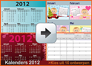 Kalenders 2012 Gratis Downloaden via www.feestdagen-belgie.be