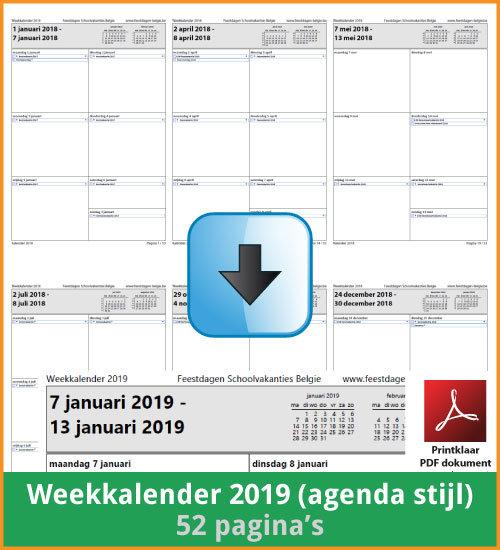 Kalenders 2019 Gratis Downloaden En Printen Feestdagen Belgie 2020 2021 Schoolvakanties Vakantiedagen