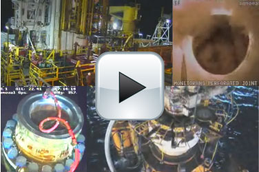 Mozaiek Webcam BP Olielek Deepwater Horizon