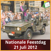 Evenementen op Nationale Feestdag Belgie 21 Juli 2012 Defile Brussel via www.feestdagen-belgie.be