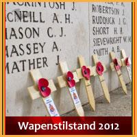 Evenementen op Wapenstilstand zondag 11 november 2012 (herinnering feestdag) via http://www.feestdagen-belgie.be/
