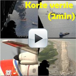 BP Olieramp Videomontage. Bekijk de olieramp eens vanuit de lucht in plaats vanuit de diepte (4 augustus 2010)