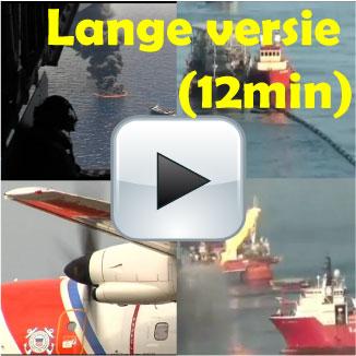 BP Olieramp 7 vliegtuigvideos. Bekijk het gebied vanuit de lucht (5 augustus 2010)